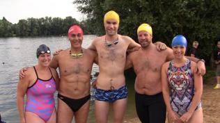 COSMIC Rays. Me (Manta Ray), Parviz (Eagle Ray), Brian (Shark Ray), Paul (Kiwi Ray) and Hilary (Tiger Ray)