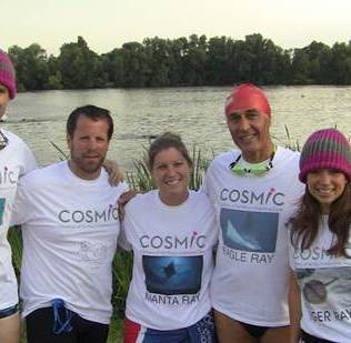 COSMIC Rays supporting the fantastic charity we are doing this in aid of.