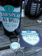 Our post swim goodies included Club to Pub beer & bottle opener.