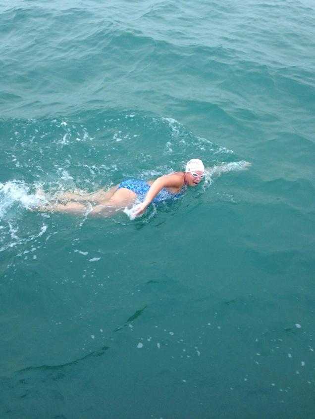Even more swimming